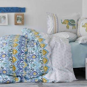Постельное белье Karaca Home Marodisa mavi 2018-2 пике 200×230