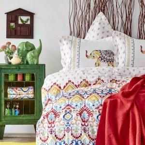 Постельное белье Karaca Home Marodisa nar cicegi 2018-2 пике 200×230