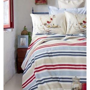 Постельное белье Karaca Home Mikonos 2017-2 pike jacquard 150×220