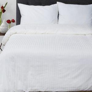 Постельное белье Lotus Отель Сатин Страйп Белый  (sv-2000008460798-v) Белый фото