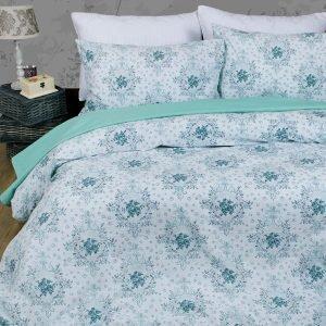 Постельное белье Lotus Premium Anna Бирюзовый  (sv-2000022193337-v) Бирюзовый фото