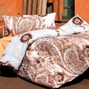 Постельное белье Lotus Premium Madeleine Коричневый  (sv-2000022072366-v) Коричневый фото