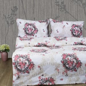 Постельное белье Lotus Ranforce Angelique V1 Розовый  (sv-2000008479189-v) Розовый фото