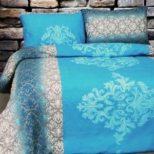 Постельное белье Lotus Ranforce Chris Голубой  (sv-2000022192842-v) Голубой фото