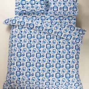 Постельное белье Lotus Ranforce Delta Голубой