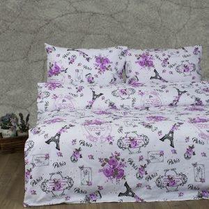 Постельное белье Lotus Ranforce Emily Розовый  (sv-2000022172417-v) Розовый фото