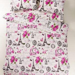 Постельное белье Lotus Ranforce Louvre Розовый
