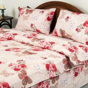 Постельное белье Lotus Ranforce Mon-amie Розовый