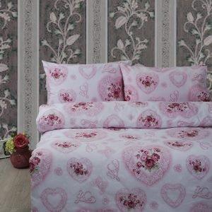 Постельное белье Lotus Ranforce Patsy Розовый