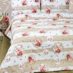 Постельное белье Lotus Ranforce Vintage Бежевый  (sv-2000022072113-v) Бежевый фото