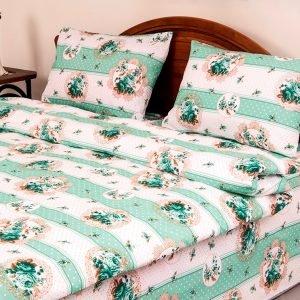 Постельное белье Lotus Ranforce Vintage Зеленый