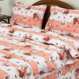 Постельное белье Lotus Ranforce Vintage Розовый  (sv-2000022072076-v) Розовый фото