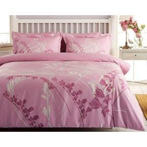 Постельное белье Pierre Cardin – Eva розовое сатин 200×220