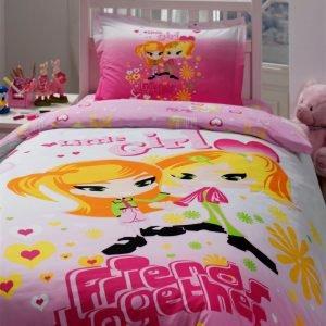 Постельное белье Storway ранфорс Little Girl 160x220 (sv-2000008480741) Розовый фото