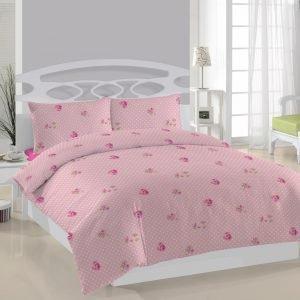 Постельное белье Weekend Rosa dots ранфорс 200x220 (sv-2000008456609) Розовый фото