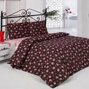 Постельное белье Weekend Wish ранфорс  (sv-2000008456500-v) Розовый|Черный фото