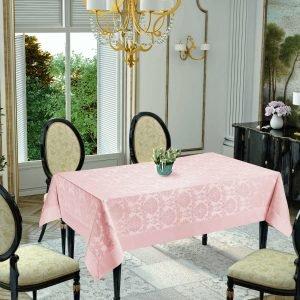 Скатерть Jackline Damascus Pink 9940-9 160×220