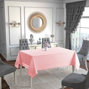 Скатерть Jackline Flower Pink 9951-1 160×220