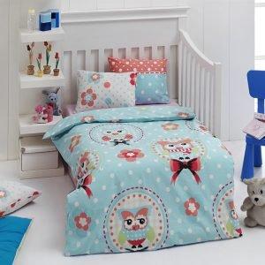 Детское постельное белье для младенцев Eponj Home – Baykus A.mavi 100×150