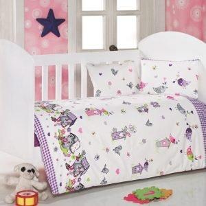 Детское постельное белье для младенцев Eponj Home – Kuslar Lila 100×150