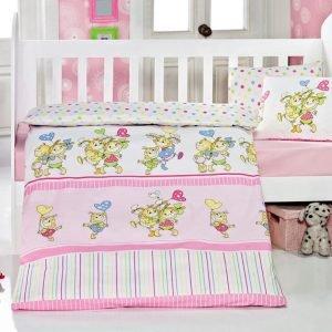 Детское постельное белье для младенцев Eponj Home – Pitircik Pembe 100×150