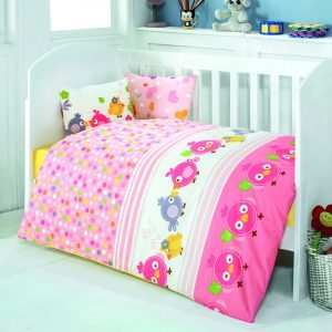Детское постельное белье для младенцев Eponj Home – Zuzu Pembe 100×150