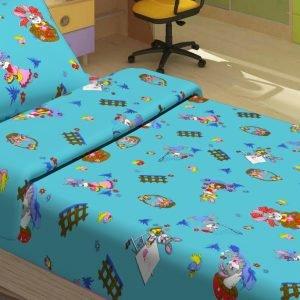 Детское постельное белье для младенцев Lotus – JiMi голубой 100×150