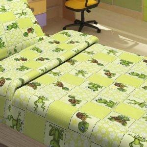 Детское постельное белье для младенцев Lotus – JoJo зеленый 100×150