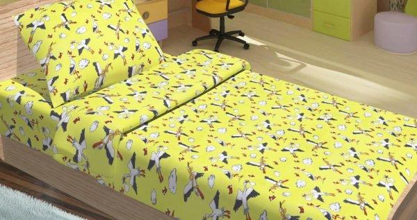 купить Детское постельное белье для младенцев Lotus - PeTi желтый (2000008476522)