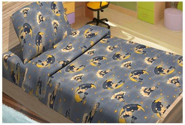 Детское постельное белье для младенцев Lotus – ToBi синий 100×150