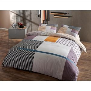 Подростковое постельное белье TAC Ranforce Teen – Berkley gri v01 160×220