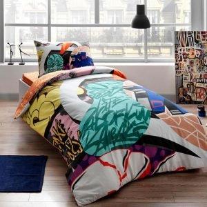 Подростковое постельное белье TAC Ranforce Teen Graffiti – Easy yesil v01 160×220