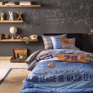 Подростковое постельное белье TAC Ranforce Teen — Jeans 160×220