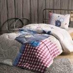 Полуторное постельное белье разновидности размеров