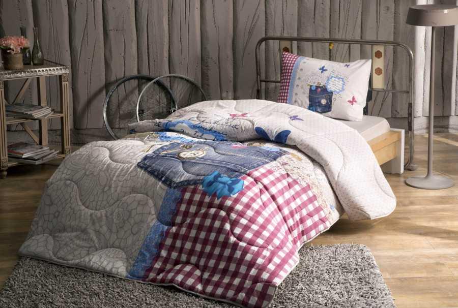 купить Подростковое постельное белье TAC Ranforce Teen - Moschino (2000022091299)