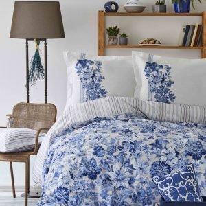 Постельное белье Пике Karaca Home – Melanie indigo 2018-2 200×220