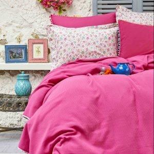 Постельное белье Пике Karaca Home – Picata fusya 2018-2 200×220