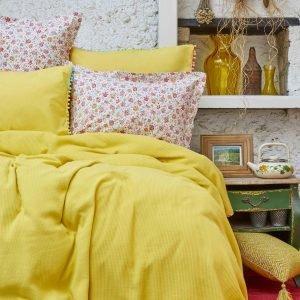 Постельное белье Пике Karaca Home — Picata sari 2018-2 200×220