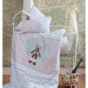 Постельное белье для младенцев Karaca Home – Deer зеленое 100×150