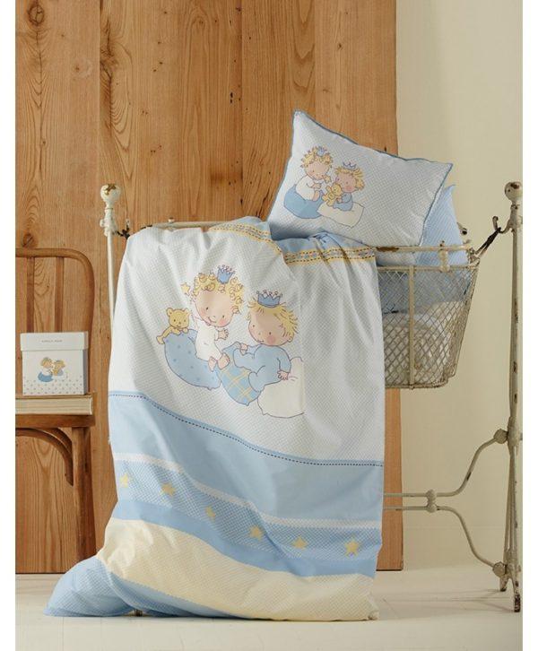 купить Постельное белье для младенцев Karaca Home - Mini голубое (2883)