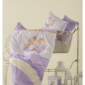 Постельное белье для младенцев Karaca Home – Mini лиловое 100×150