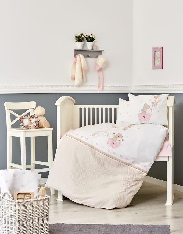 купить Постельное белье для младенцев Karaca Home - Pretty 2018-1 (2000022086998)