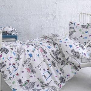 Постельное белье для младенцев Marie Claire — Crazy multi 100×150