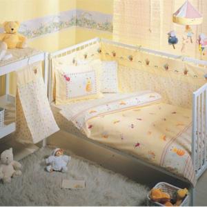 Постельное белье для младенцев TAC Disney – Ari Vizz Vizz желтый 100×150