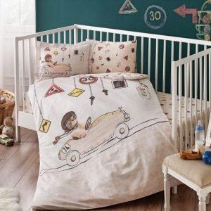 Постельное белье для младенцев TAC Disney – Driver bej бежевый 100×150