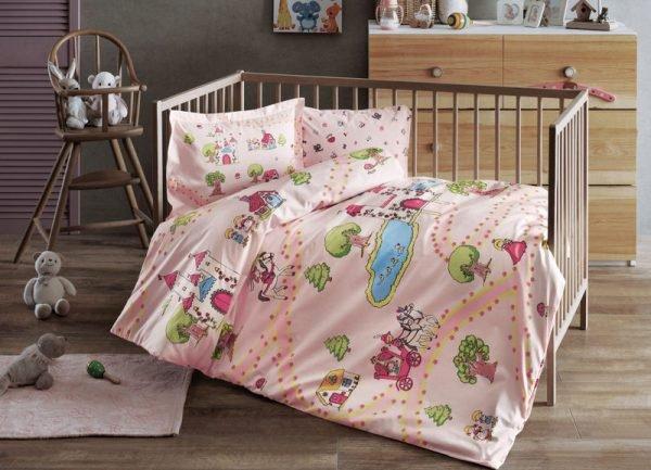 купить Постельное белье для младенцев TAC Disney - Princess pembe розовый (2000022100847)