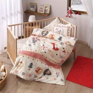 Постельное белье для младенцев TAC Disney – Snow kirmizi красный 100×150