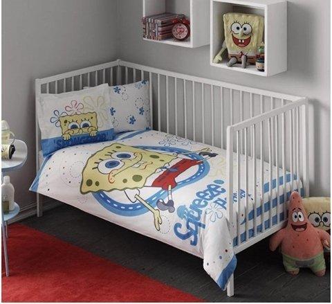 купить Постельное белье для младенцев TAC Disney - Sponge Bob Baby (7629)