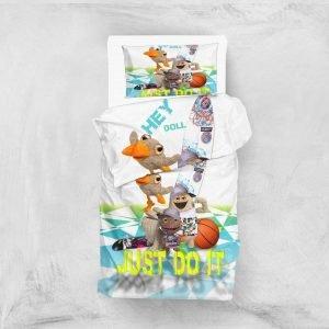 Постельное белье для подростков Eponj Home 3D Micro Satin — Hey Beyaz 160×220