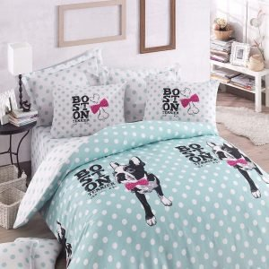 Постельное белье для подростков Eponj Home — Boston Mint 160×220